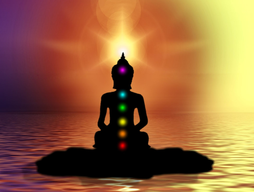 Chakras. Bnwyfre Energy. How to be Happy online course presented by the Spiritual Centre
