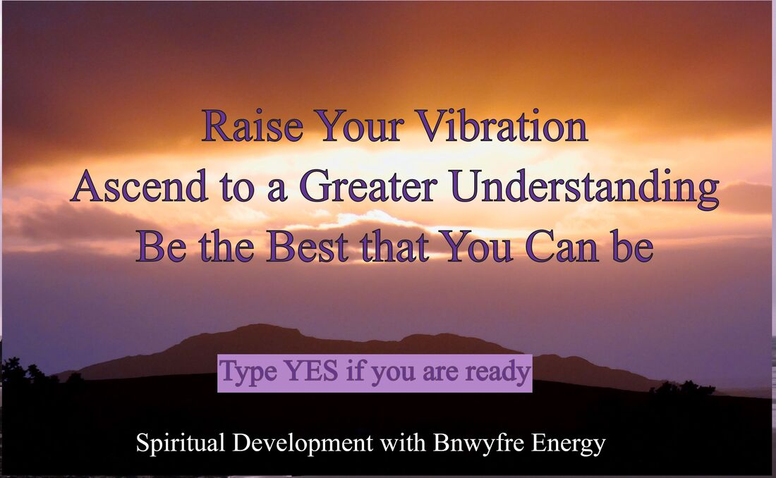 Spiritual Development with Bnwyfre Energy online course presented by The Spiritual Centre