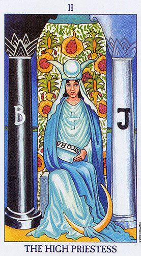 Tarot, The High Priestess, Sonia Parker