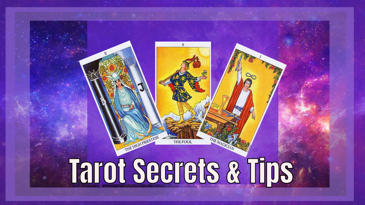Tarot Secrets and Tips. Online Course by Sonia Parker